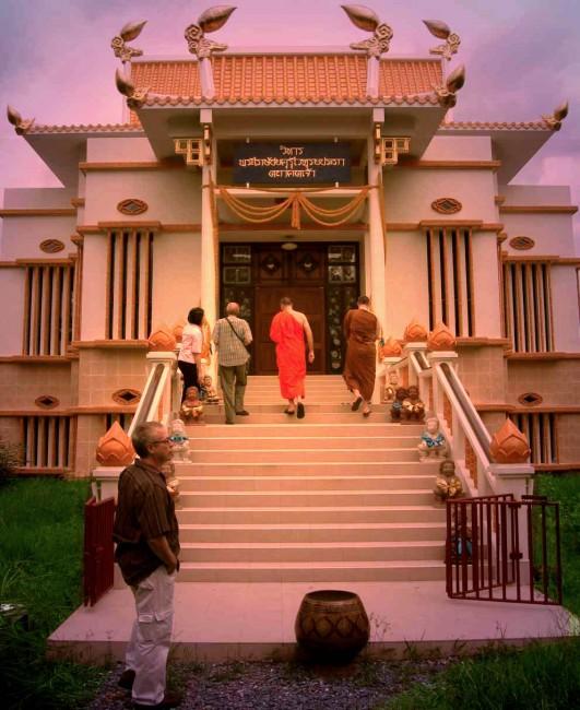 entrance to the unusual medicine Buddha
