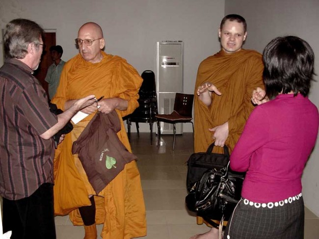 meditation, mindfulness and vipassana in Bangkok