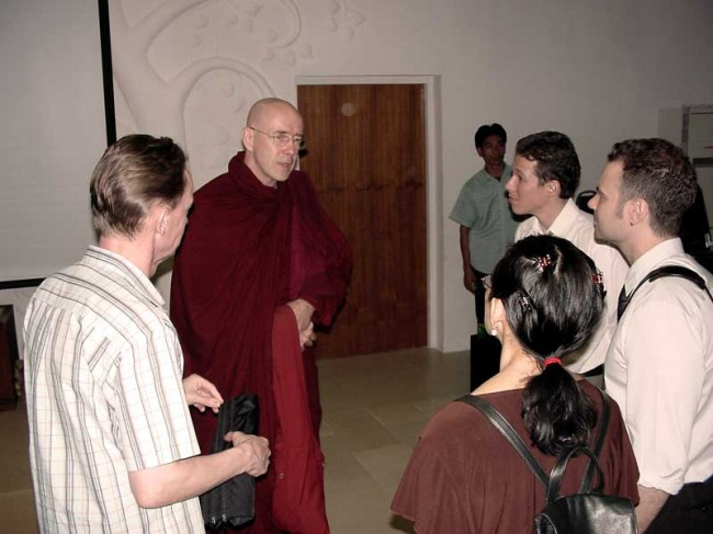 dhamma talk with Vipassana teacher U Vamsa