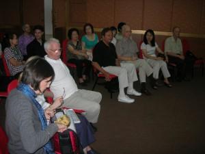 Meditation group meets at Tai Pan Center