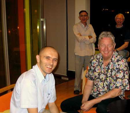 bangkok meditation group meets