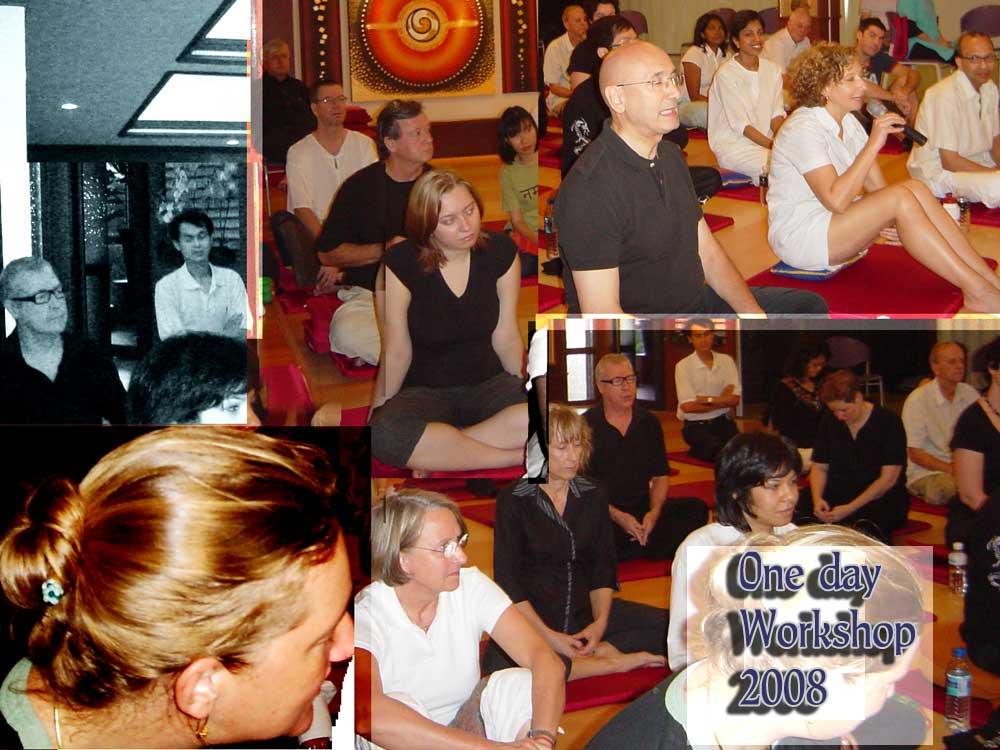 Vipassana meditation with Jeff Oliver.