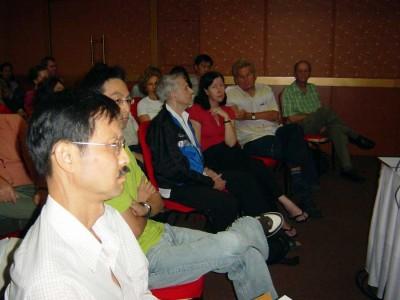 Eckhart Tolle event in Bangkok