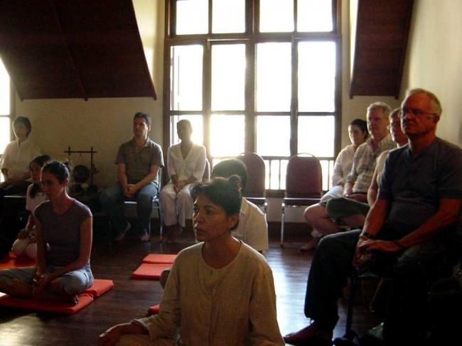 ariyasom mindfulness meditation hall