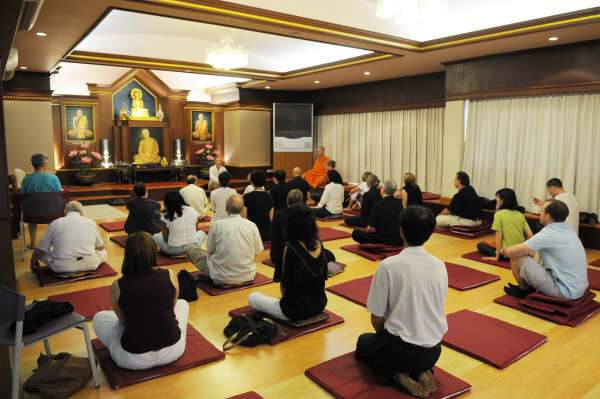 One day mindfulness meditation workshop, Bangkok