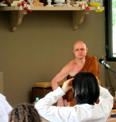 photos from our day trip to see Ajahn Jayasaro