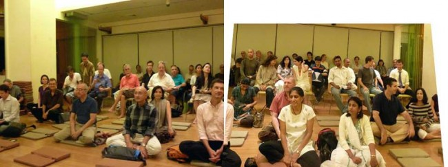 lecture on mindfulness and Buddhism in Bangkok, Thailand