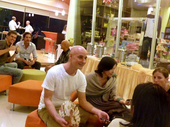 Buddhism in Bangkok, Thailand, with A. Pasanno