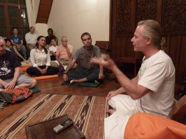 Bangkok meditation and mindfulness with Jeff