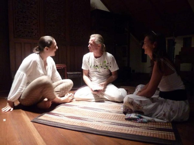 mindfulness questions for Jeff Oliver in Bangkok