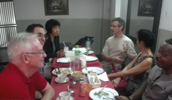 Bangkok meditators at our discussion group format