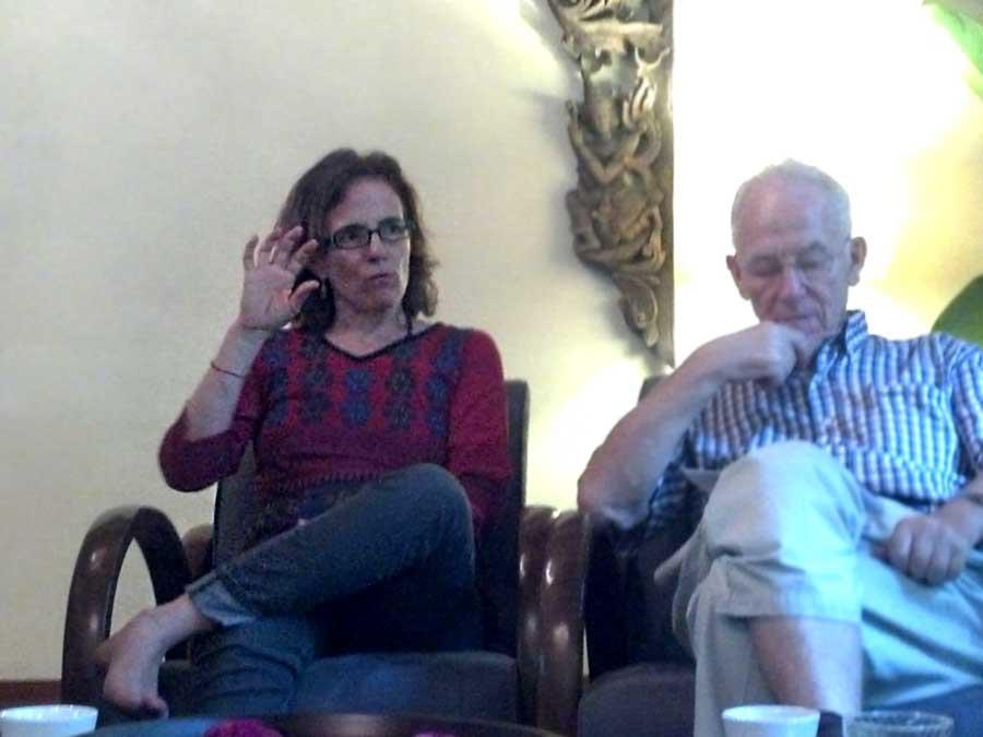 Cappuccino Club in Bangkok discussing Bodhisattva Ideal