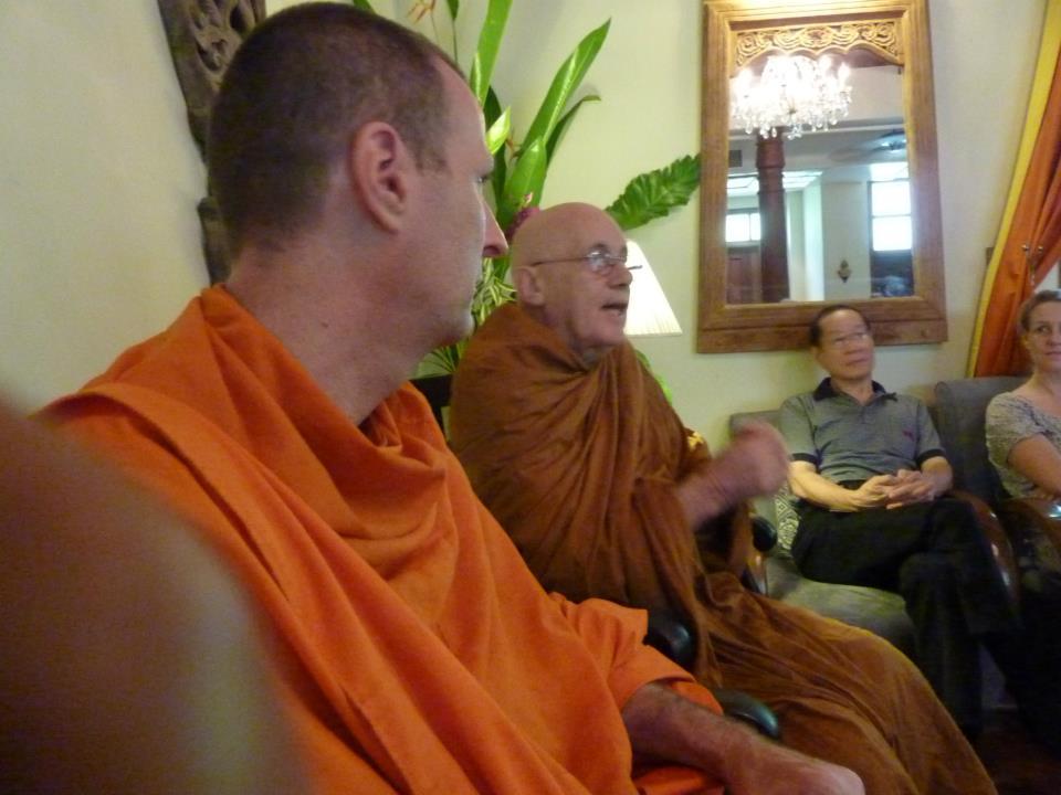 dharma talk and meditaiton