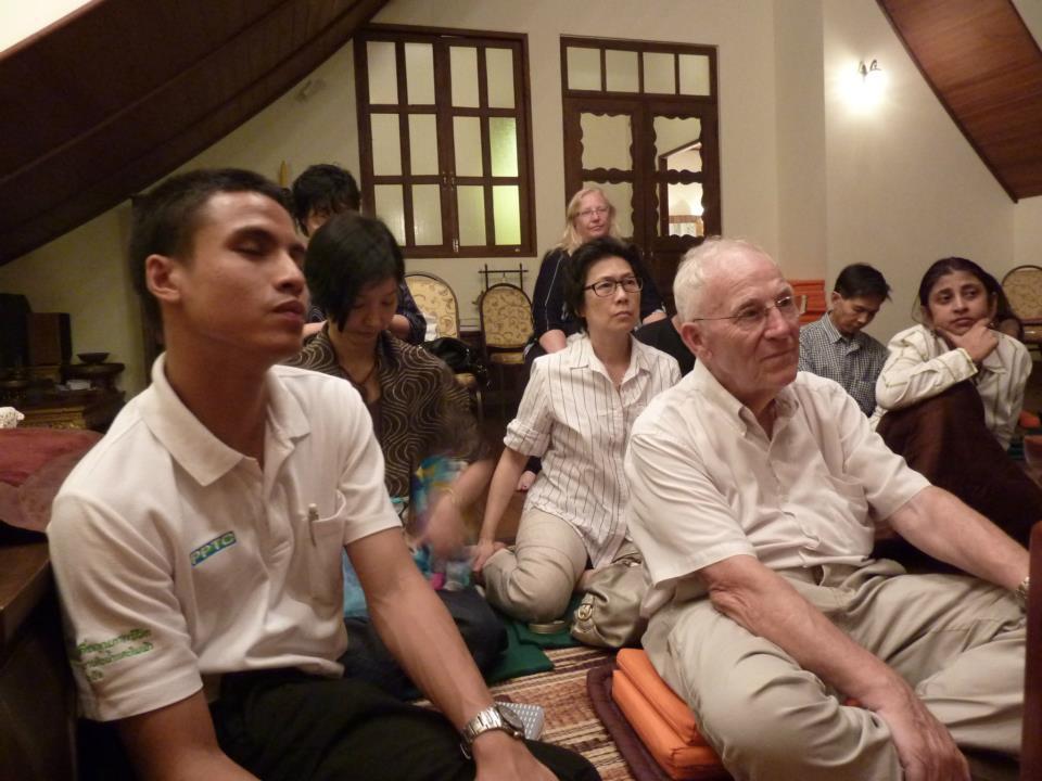 Bangkok event for meditation group