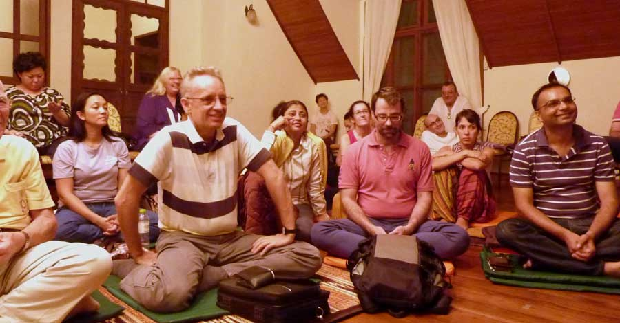 mindfulness, meditation and dhamma in Bangkok