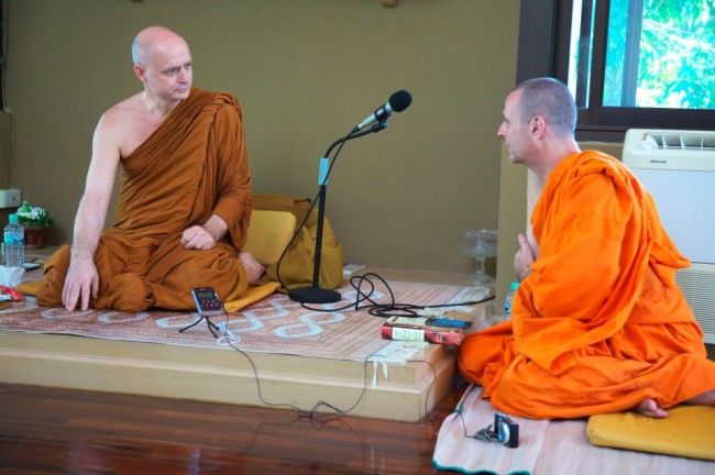 Ajahn Jayasaro dhamma talk for Bangkok meditation group