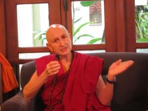 Tibetan Buddhism Bhikkhuni Ani Choying in Bangkok for Dhamma talk