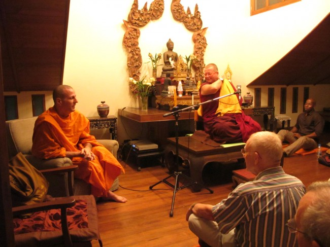 hosting Bhikkhuni Ani Zamba at Ariyasom