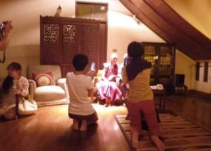 Photo op with Bhikkhuni Ani Choying