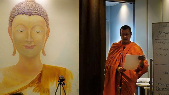 original buddhism course, bangkok thailand with pandit Bhikkhu