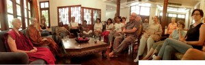 Cappuccino Club - discussion with Bhikkhunis Ani Choying and Adhimutta
